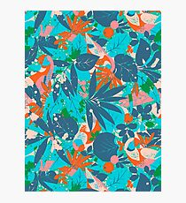 Brazil Hip Hop Pattern by Pepe Psyche Photographic Print