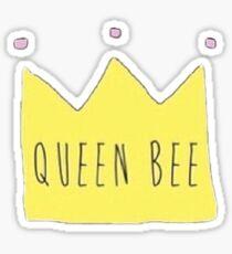 Queen Bee Crown Sticker