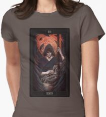 Death - Thanatos Womens Fitted T-Shirt