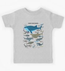 Know Your Sharks Kids Tee