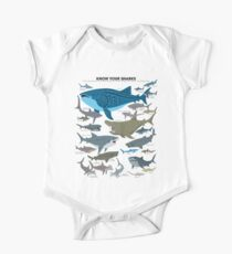 Know Your Sharks Short Sleeve Baby One-Piece