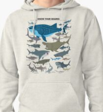 Know Your Sharks Pullover Hoodie