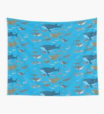 Know Your Sharks Wall Tapestry