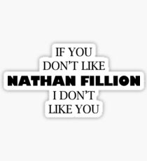 I like Nathan Fillion Sticker