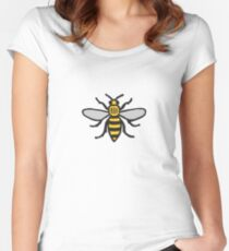 Manchester Bee, Classic Edition Women's Fitted Scoop T-Shirt