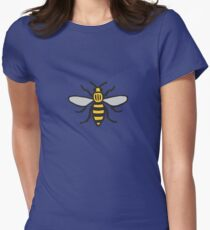Manchester Bee, Classic Edition Womens Fitted T-Shirt