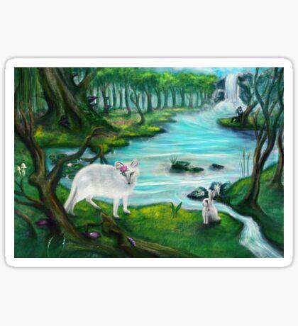 Im Zauberwald - Enchanted Forest Sticker