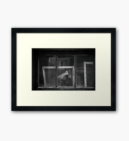 Self-framed Framed Print