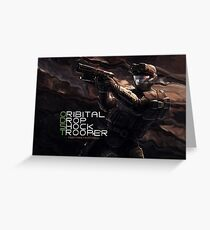 ODST Greeting Card