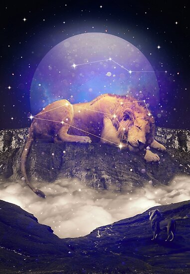 Under the Stars III (Leo Constellation) by soaringanchor