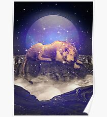 Unter den Sternen III (Leo Constellation) Poster