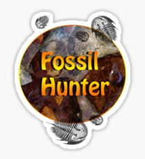 The Fossil Hunter Sticker
