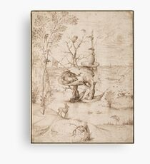 Hieronymus Bosch - The Tree-Man 1505 Canvas Print