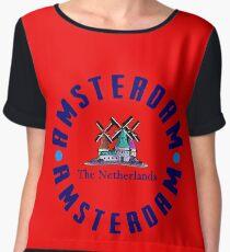 Amsterdam Women's Chiffon Top