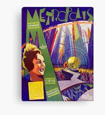 Rare Metropolis Poster Canvas Print