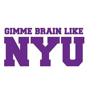 Dame cerebro como NYU (Morado) de sorasicha