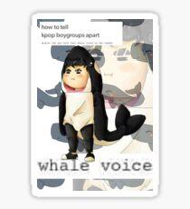 Bang Yong Guk - Precious Whale Baby Sticker