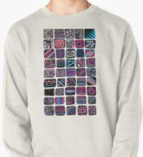 Squares Pullover Sweatshirt