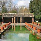 Dutch Garden, Hampton Court Castle by RedHillDigital