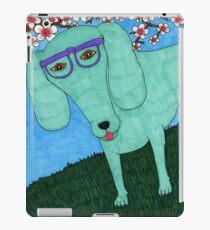 hipster dachshund iPad Case/Skin