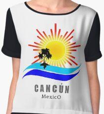 Cancun, Mexico Chiffon Top