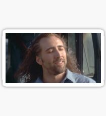 Nicolas Cage Being Majestic  Sticker