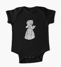 Don't Cry, Li'l Angel Short Sleeve Baby One-Piece