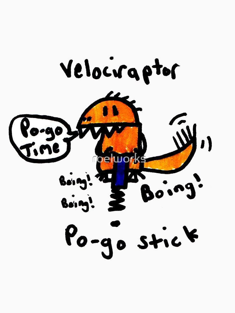 Pogo Velociraptor by roelworks