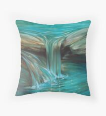 The Flow Throw Pillow