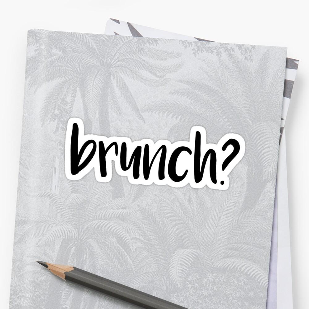 brunch? by sd g