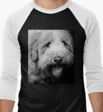 Portrait in Black & White Men's Baseball ¾ T-Shirt