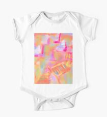 Colorful Abstract Art Sailboat Mug in Pastels One Piece - Short Sleeve