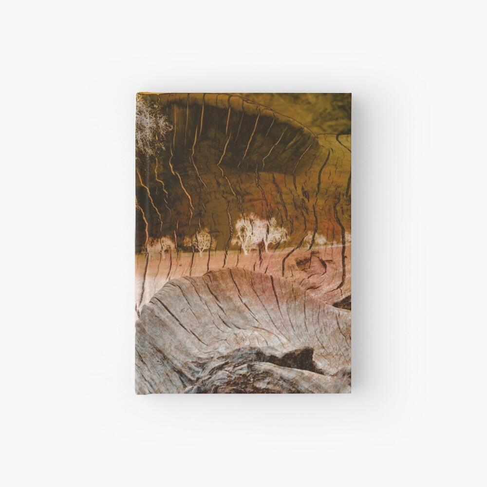 Holz auf Holz Notizbuch