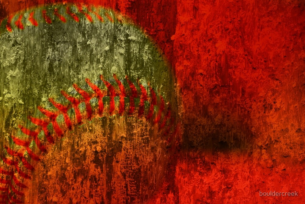 Baseball Abstract by bouldercreek