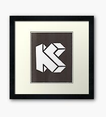 K is for Killmonkies Framed Print
