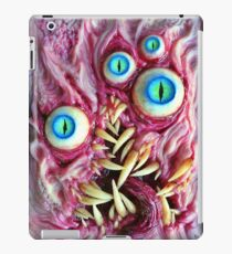 Bright eyes monster portrait iPad Case/Skin