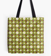 Lady Pug Pattern Tote Bag