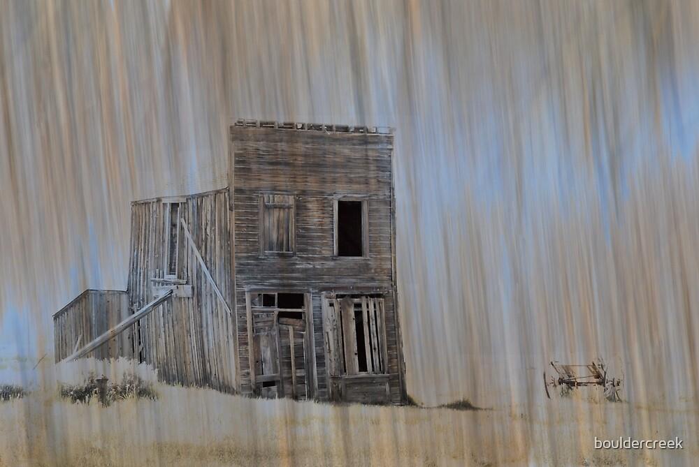 Ghost Town Art by bouldercreek