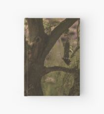 Oak and Flowers Hardcover Journal