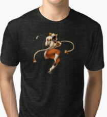 Taokaka-mew! Tri-blend T-Shirt