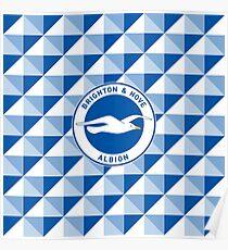 Brighton & Hove Albion football club Poster