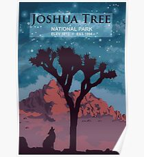 Joshua-Baum-Nationalpark. Poster