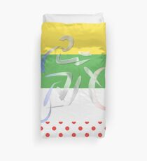 Le Tour Duvet Cover