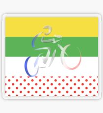 Le Tour Transparent Sticker