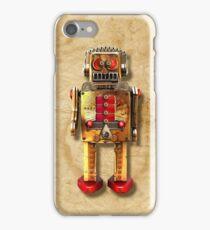 Vintage Robot 2 iPhone case iPhone Case/Skin