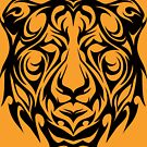 Tribal Tiger by TurkeysDesign