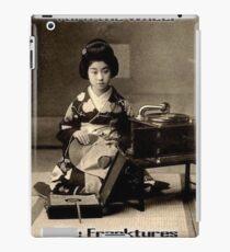 Japanese geisha phonograph iPad Case/Skin