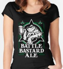 Battle Bastard Ale Women's Fitted Scoop T-Shirt
