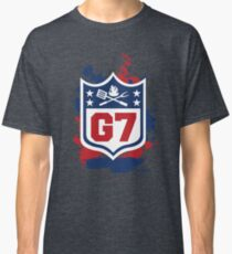 Gridiron Graffiti – Team G7 Classic T-Shirt