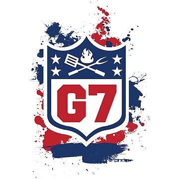 Gridiron Graffiti – Team G7 by graffitiswag